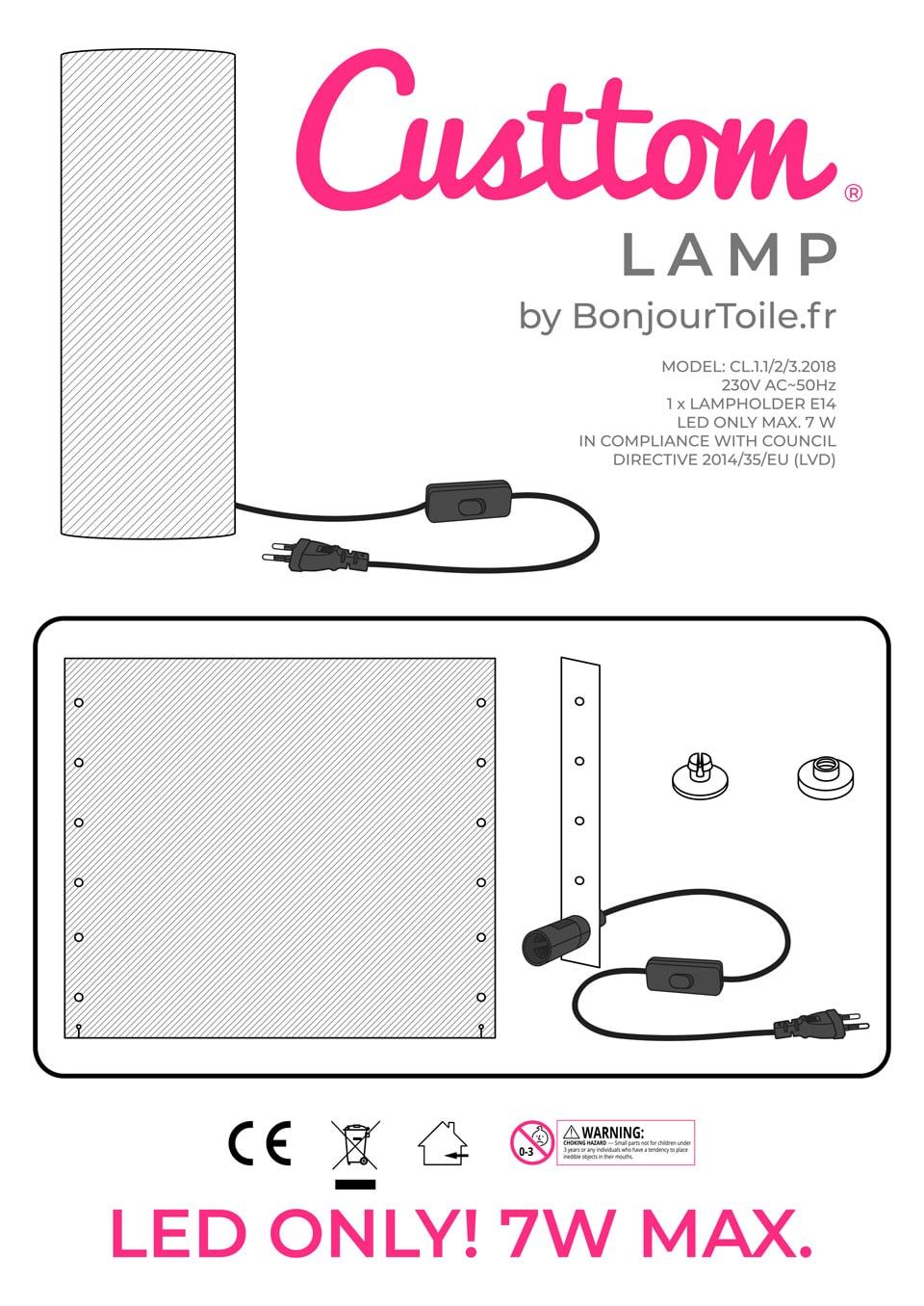 Lampe photo manuel