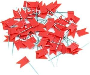 Drapeaux rouges