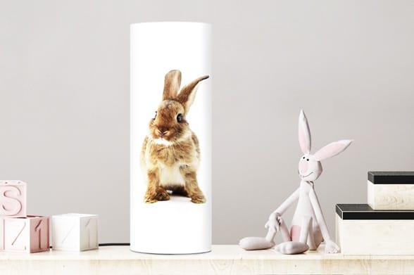Lampe petit lapin