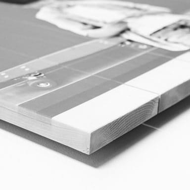 Imprimer photo sur bois
