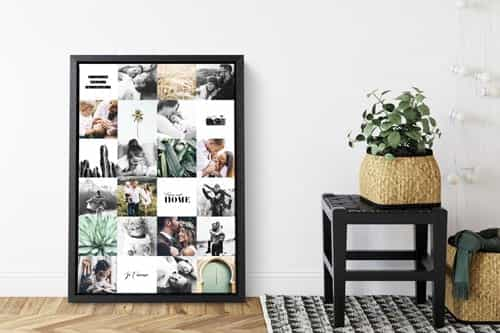 Photo sur toile kit de fixation